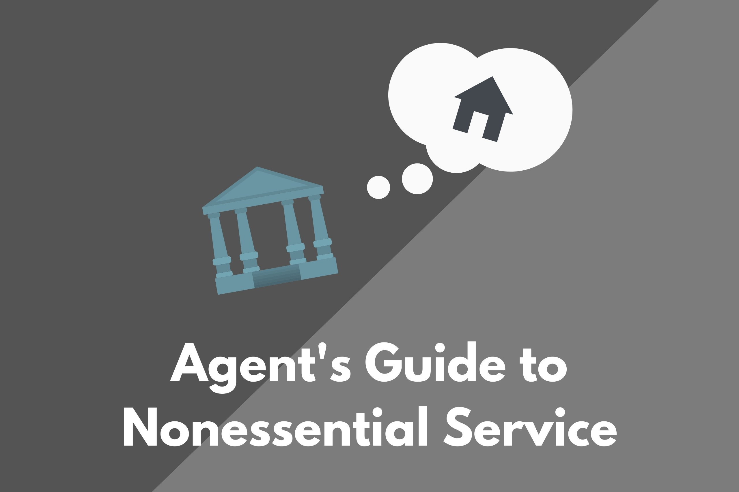 real estate agents nonessential service